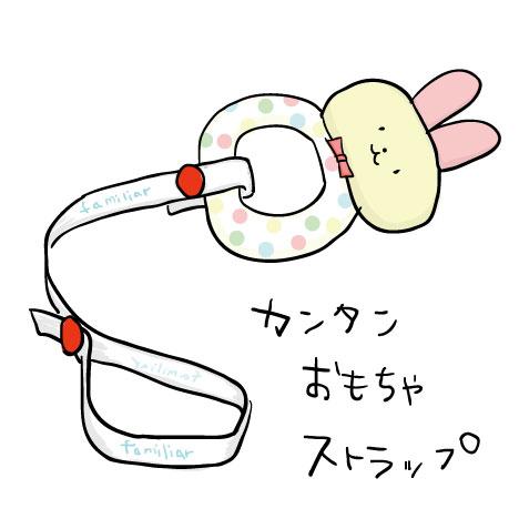 簡単手作りおもちゃストラップ