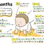 生後7ヶ月成長記録
