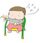 生後11ヶ月 離乳食を大人しく食べてもらう裏技!