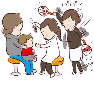 【2歳小児斜視】検査内容
