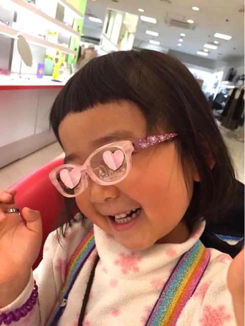 【4歳小児斜視】メガネを作る