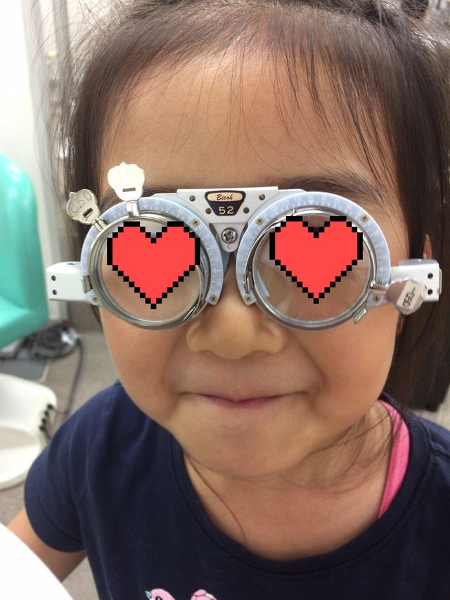 【6歳小児斜視】眼鏡の処方箋をもらう