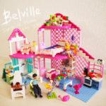 【廃盤LEGO】ベルビルのサンシャインホームがクセだらけでかわいい!
