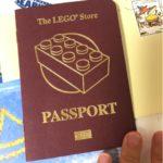 レゴパスポートと結婚式と筋トレ