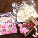 【ハンドメイド】姉から娘たちへのプレゼントがかわいい