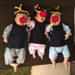 赤ちゃんにお祭り装束着せて満喫してきたー!