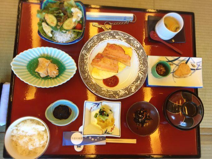 下田大和館3日目朝食(こども)