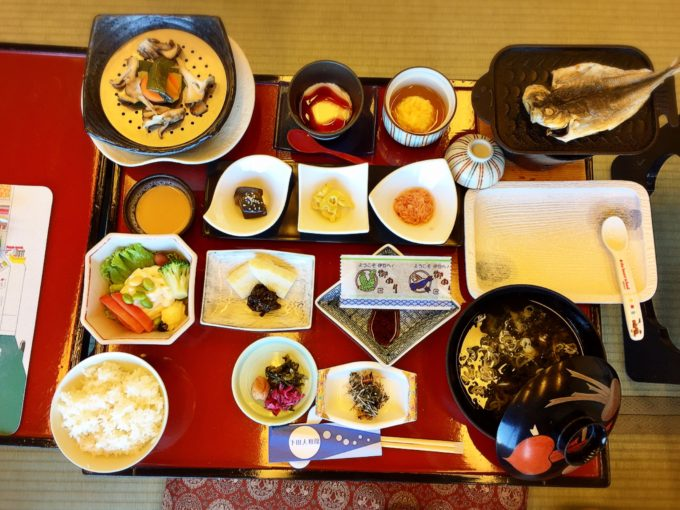 下田大和館2日目朝食