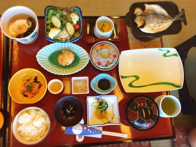 下田大和館3日目朝食