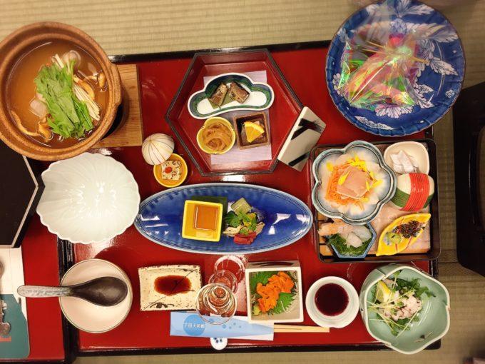 下田大和館2日目夕食