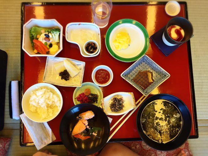 下田大和館2日目朝食(こども)