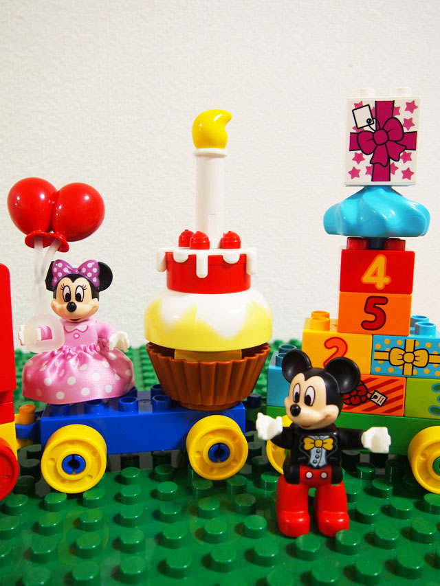 LEGO【10597 ミッキーとミニーのバースデーパレード】