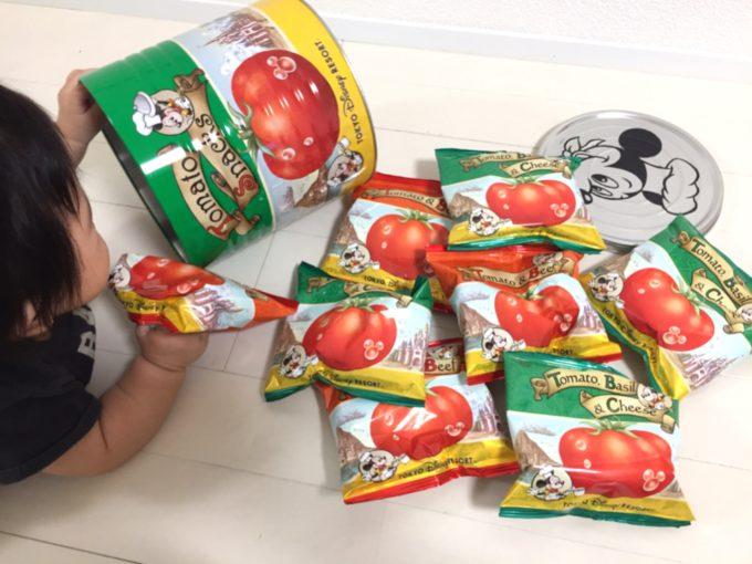 トマトスナック缶中身