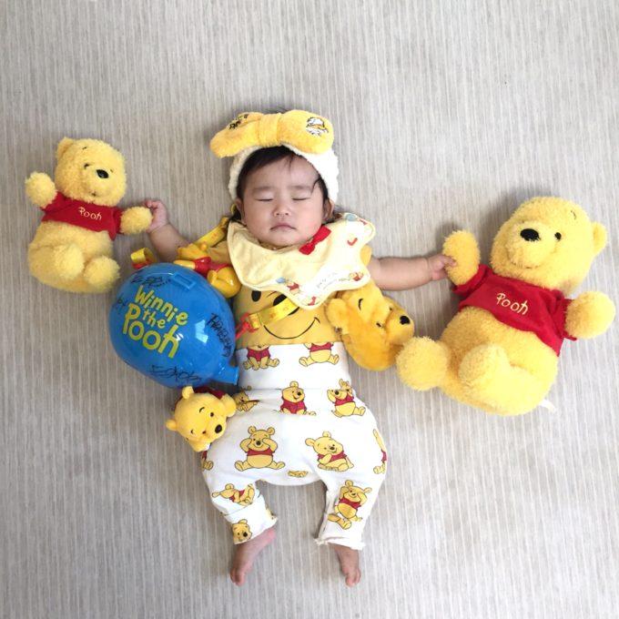 くまのプーさん×赤ちゃん
