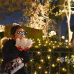 【TDL】夜に写真を撮るって難しい。イルミネーションと娘