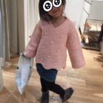 めちゃかわいいセーターを30%OFFで買ったけどネットだと50%OFFだった笑