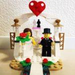 【新作】LEGOの結婚式!! Wedding Favor Set(40197)前作との比較